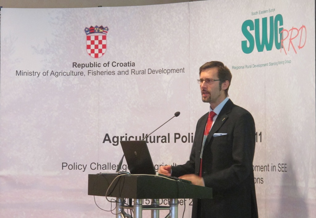 1.Oppening speech – Mr. Miroslav Bozic, Ministry of Agriculture, Fisheries and Rural Development of Republic of Croatia;