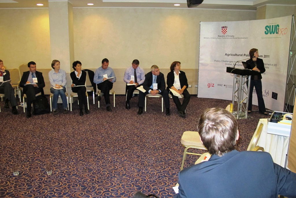 """4.Minutes from the group work session – WG I: """"Future of IPARD"""""""